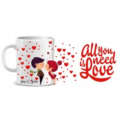 Taza All You Need is Love