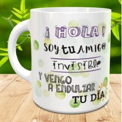 Taza amigo invisible