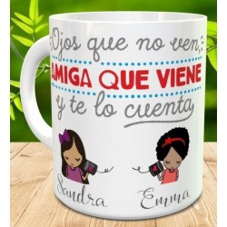 Taza amigas - best friends for ever
