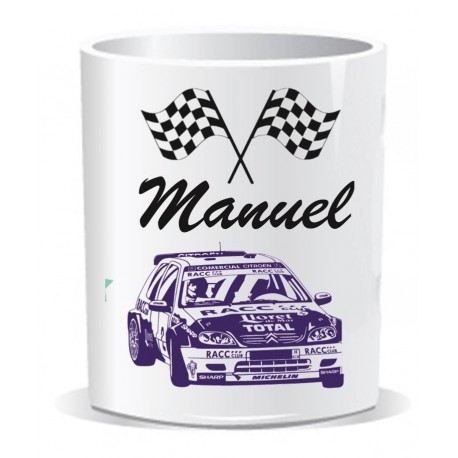 Taza I love Rally