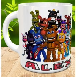 Taza Five Nights at Freddy's