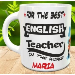 Taza the best teacher (profe Ingles)