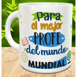 Taza regalo profe