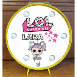 Lampara luces personalizada - LOL
