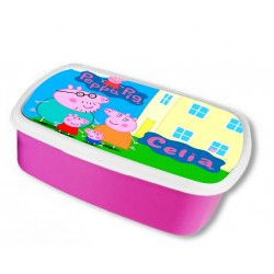 Fiambrera PEPPA PIG (color rosa)