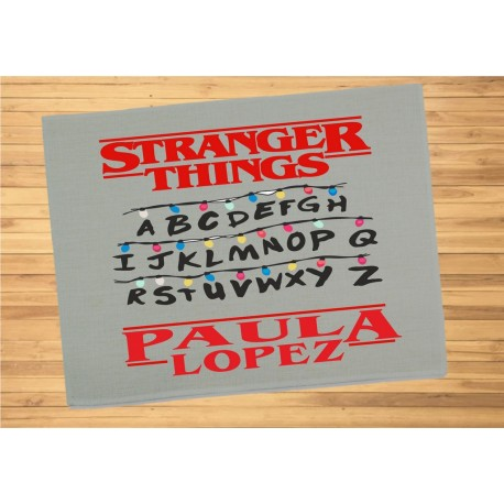 Mantel individual STRANGER THINGS